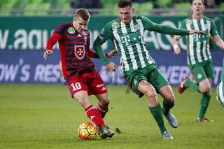 Ferencvaros - Videoton OTP Bank League football match