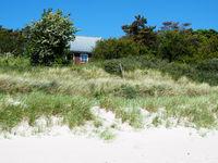 Beach house on the danish island Bornholm