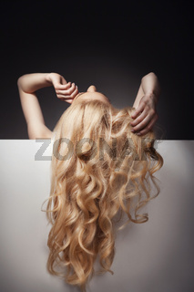 Beautiful Long Hair on an Attractive Woman