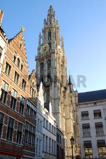 historische fassaden antwerpen belgien