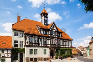 Rathaus von Gernrode