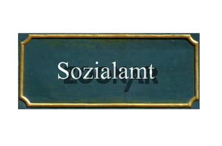 schild sozialamt