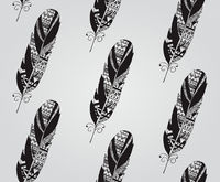 Vintage Hand Drawn Seamless Pattern