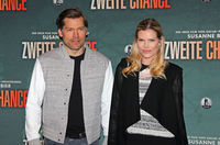 Nikolaj Coster-Waldau and Lykke May Andersen