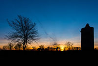 sunset by eichstaedter observatory