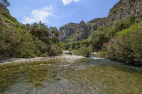 Preveli Palm Grove, Beach, Crete