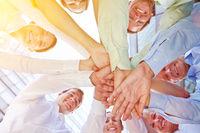 Erfolg und Zusammenarbeit im Business Team