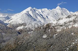 Großglockner, Hochalpenstraße, Nationalpark Hohe Tauern, Österreich