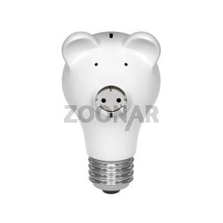 piggy bank light bulb