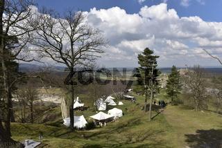Wikinger auf Burg Regenstein.