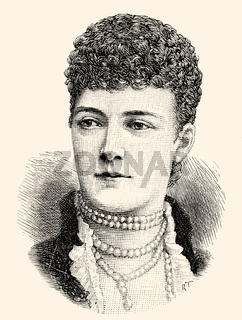 Alexandra of Denmark; 1844-1925; wife of Edward VII or Albert Edward; 1841-1910; King of the United Kingdom