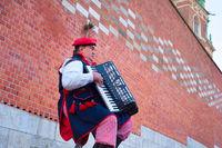 Traditional Poland musician
