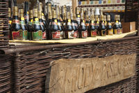 Large selection of bottled mead