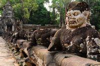 bridge to Preah Khan