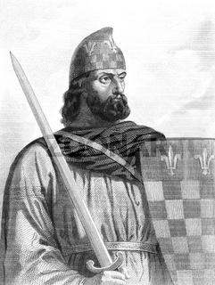 Hugh Magnus, 1007-1025, co-King of France