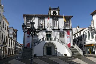 Town hall, Rathaus, Ponta Delgada, Azores