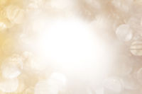 Strahlendes Bokeh in Goldenem Glanz