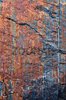 Colored stone texture with cracks