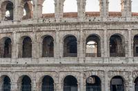 Rome, Italy: Colosseum, Flavian Amphitheatre,