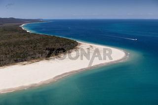 Luftaufnahme Moreton Island, Australien