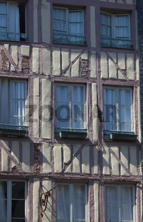 Architecture of Honfleur, Calvados, Normandy, France