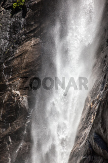 water falls in Yosemite