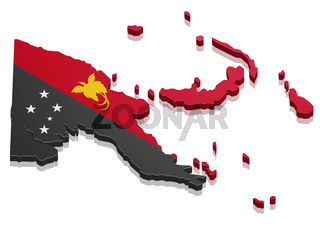 Map Papua New Guinea