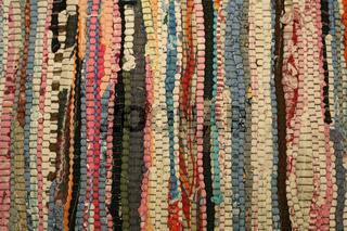 Multi-coloured carpet