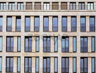 Moderne Gebäudearchitektur in Berlin