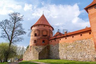 Side View of Trakai Castle