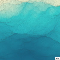 Water Surface. Wavy Grid Background. Mosaic.