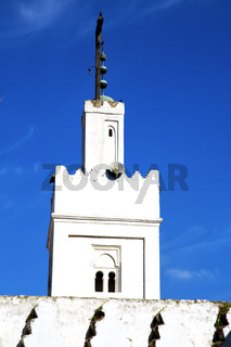 muslim the history  symbol  in   minaret religion and  blue    sky