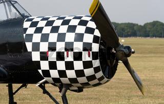 Propeller vom Motorflugzeug