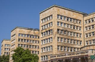 Johann Wolfgang Goethe Universität Frankfurt
