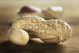 Peanut on a table