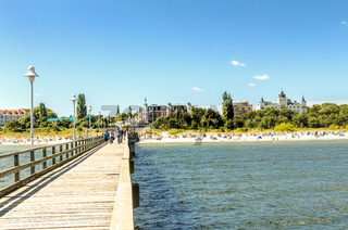 Osteebad Zinnowitz auf der Insel Usedom