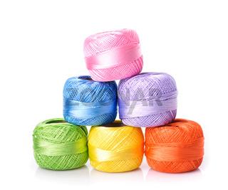 color threads  pyramid