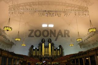 Tabernacle organ in Salt Lake City, Utah