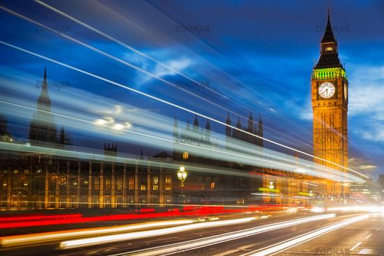 Big Ben at Westminster Bridge, London, UK
