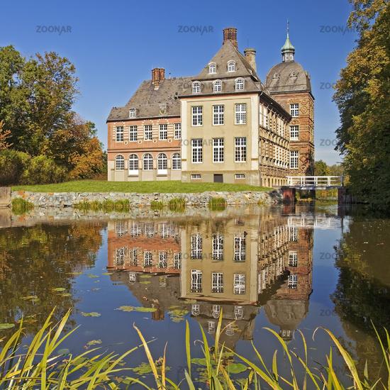 Schloss Hovestadt, moated castle, Lippetal Germany