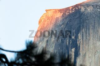 The dome in Yosemite