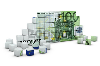 the figure of a euro