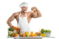 bodybuilder cook
