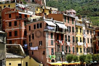 Vernazza, Ortschaft von Cinque Terre, Italy