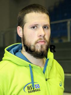 kroatischer Handballer Ilija Brozovic -Saison 2015/16 HSV Handball,THW Kiel,Nationalspieler Kroatien