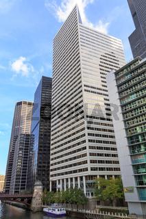 Chicago Riverside Architecture