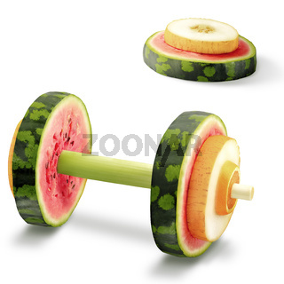 Fruits for sports.