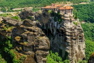 The holly monastery of Varlaam, Meteora, Greece