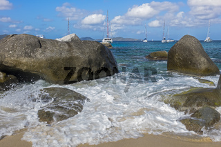 The Baths National Park Virgin Gorda British Virgin Islands West Indies