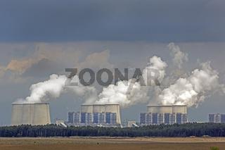 Kraftwerk Jänschwalde, Brandenburg, Deutschland, Europa